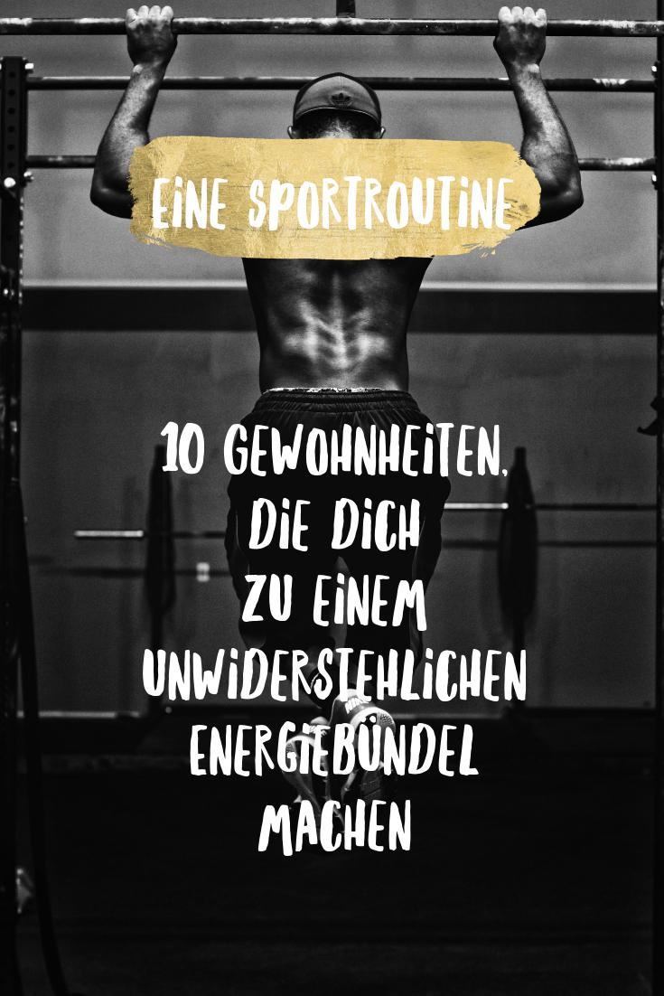 Mehr Energie durch Sport